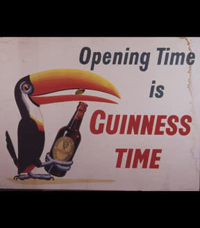 Opening Time is Guinness Time, 1953