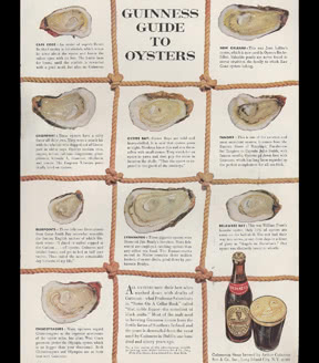 GUINNESS Guide to Oysters, 1951