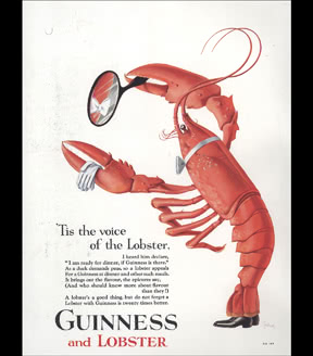 Guinness and Lobster, 1931