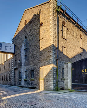 The Guinness Storehouse site exterior