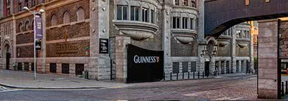 Walking Entrance to Guinness Storehouse®