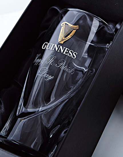 Personalized Guinness Glassware