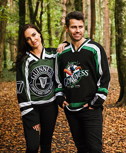 Official Guinness Hockey Jerseys
